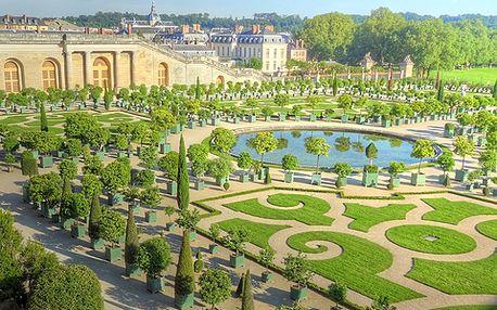 Zámek Versailles a prohlídka Paříže v termínu 25. - 28.10.2014, 4-denní poznávací zájezd za 2198 Kč za osobu
