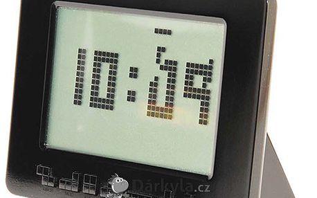 Zábavný budík Tetris