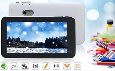 7 palcový tablet Android, 2 barvy, poštovné zdarma