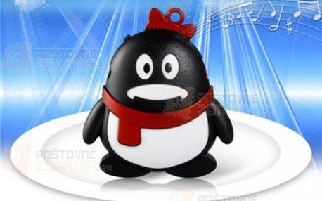 Krásný MP3 přehrávač ve tvaru tučňáka a poštovné ZDARMA! - 29513363