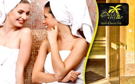 Privátní sauna pro dva v Oasis City