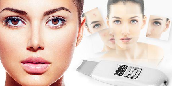 Kosmetická ultrazvuková čisticí špachtle Va 2000