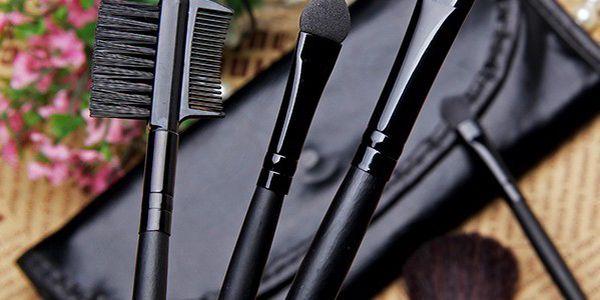 Sedmidílná sada kosmetických štětců - vykouzlete si dokonalý makeup!