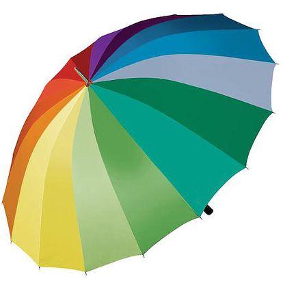 Deštník do větru - duhový