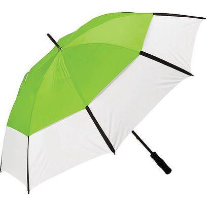 Velký dvouvrstvý deštník - limetkový