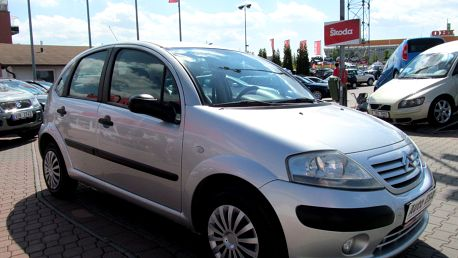 Citroën C3 1.1, Serv.kniha,ČR