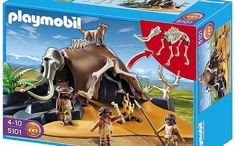 Lovci v úkrytu z mamuta - Playmobil