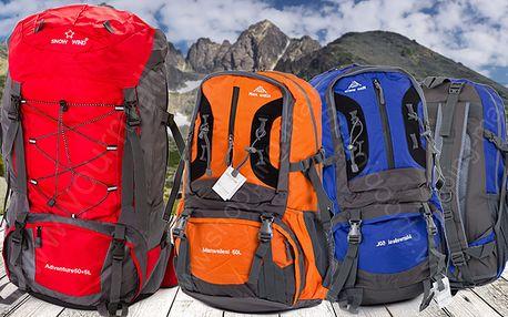 Expediční batoh Snow Wind 50l nebo 50+5l