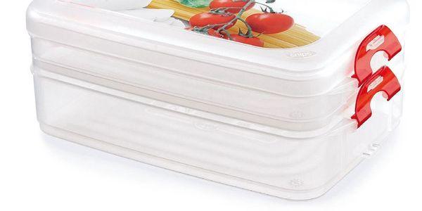 Set krabičky na jídlo Frigoclick, 2 ks