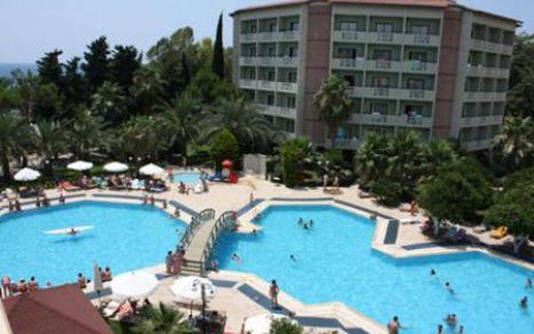 Turecko, oblast Alanya, letecky, ultra All inclusive, ubytování v 5* hotelu na 8 dní