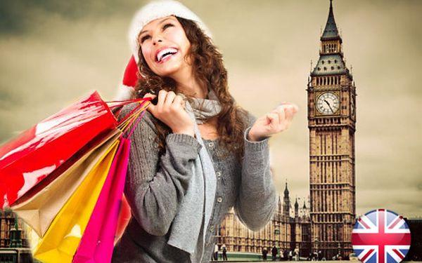 Do Londýna (nejen) za VÁNOČNÍMI nákupy