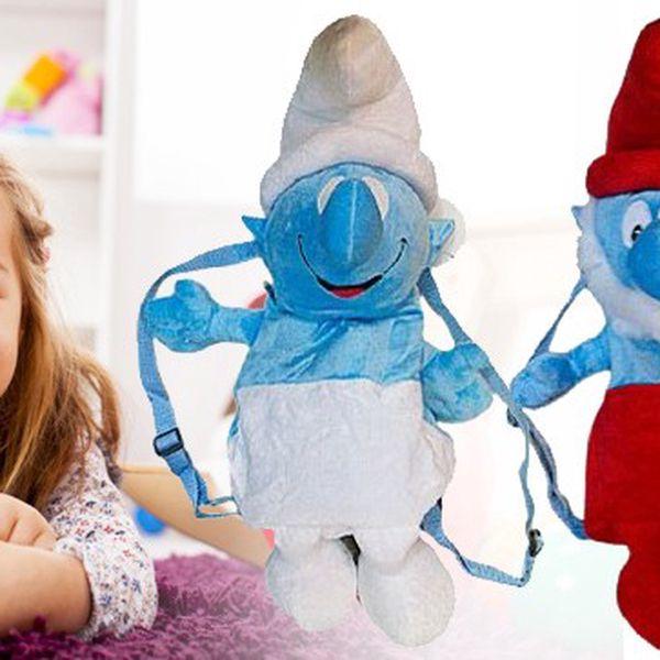Baťůžek ve tvaru Šmoulů - udělejte dětem radost!
