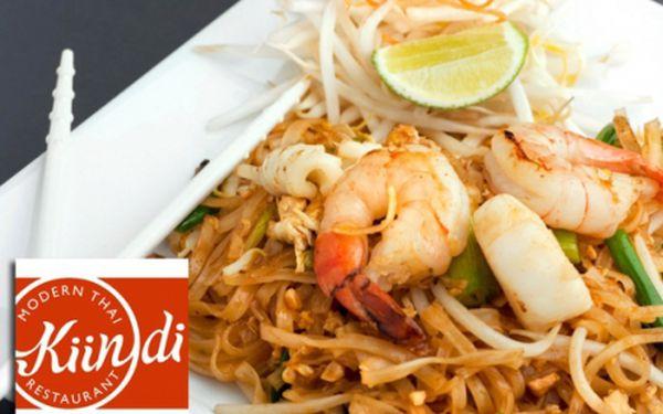 Ochutnejte speciality thajské kuchyně! Sleva na VEŠKERÁ JÍDLA z thajské restaurace Kindii! Moderní gastronomie, příjemné posezení a výborné jídlo na vás čekají v nově otevřené pobočce oblíbené thajské restaurace na Praze 4!!!