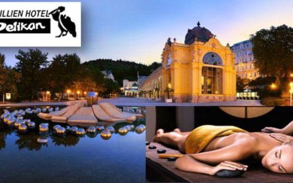 MAR. LÁZNĚ - osvědčený hotel Pelikán: 3 dny s chutnou polopenzí, palačinkou,medovou masáží a lázněmi