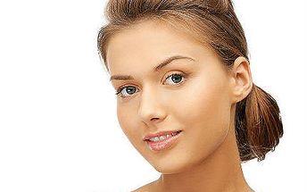Kosmetické ošetření dermokosmetikou CHRISTINA