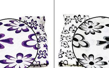 Luxusní bavlněná ložní souprava 2+2 v 13 barevných provedeních!