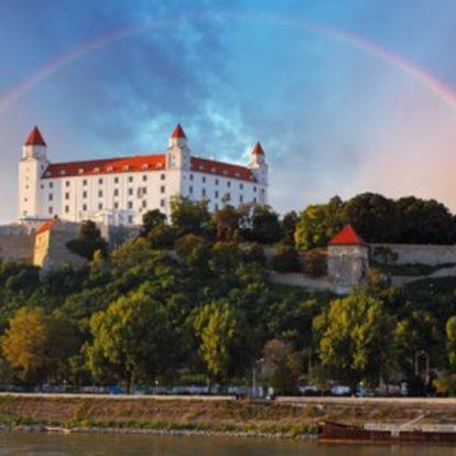 Pobyt v Bratislavě pro dva se snídaní v moderním hotelu u historického centra