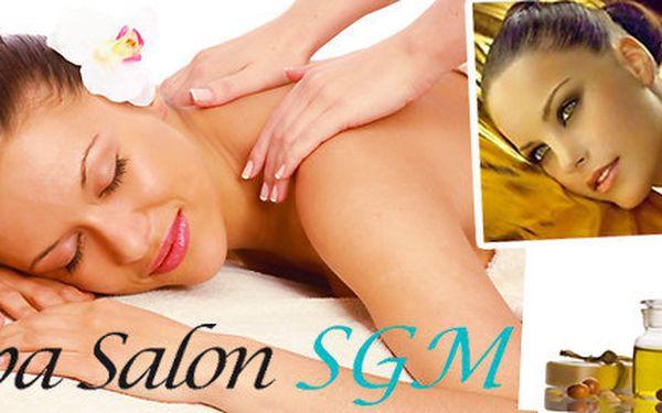 Luxusní masáž Zlatý podzim aneb nechte se hýčkat zlatem (80 minut)