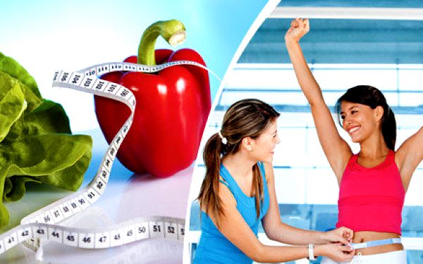 2 konzultace s výživovým poradcem a jídelníček