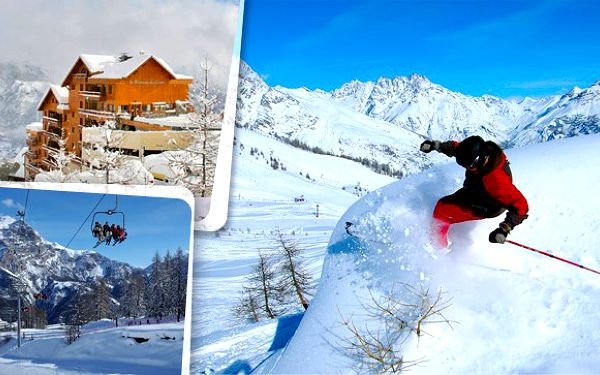 Vyrazte před Vánocemi na zasněžené svahy ve Francii. Lyžařský zájezd s dopravou, 3denním skipasem a ubytováním v rezidencích přímo u sjezdovek. Parádní lyžařské středisko Puy Saint Vincent obklopené překrásnou přírodou!