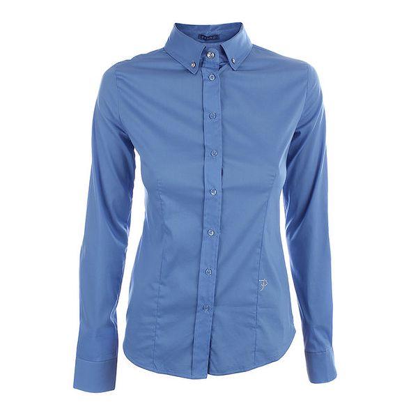 Dámská světle modrá košile s dlouhým rukávem Phard