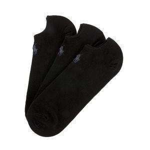 Troje černé pánské ponožky Ralph Lauren