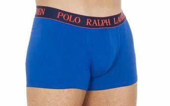 Pánské modré boxerky s výšivkou Ralph Lauren