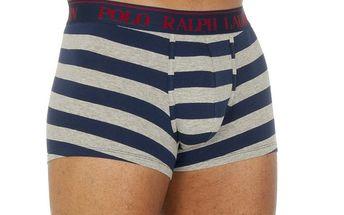 Pánské pruhované boxerky Ralph Lauren