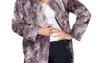 Dámský dvoubarevný kabátek Sixie