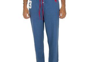 Pánské světle modré pyžamové kalhoty Ralph Lauren