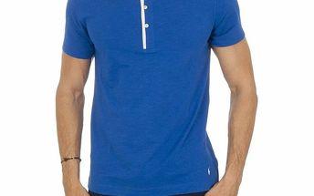 Pánské modré pyžamové tričko Ralph Lauren
