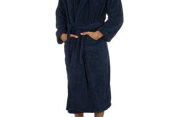 Pánský tmavě modrý župan Ralph Lauren