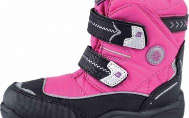 Dětská zimní obuv alpine pro antarctica kids růžová