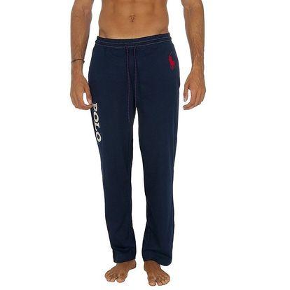 Pánské tmavě modré teplákové kalhoty Ralph Lauren
