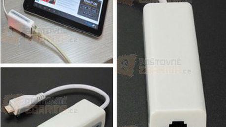 Ethernetový adaptér - RJ-45 na micro USB a poštovné ZDARMA! - 27113461