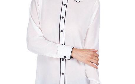 Dámská bílá košile s límečkem Sixie