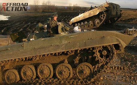 Adrenalinová projížďka v obrněném transportéru BVP-1
