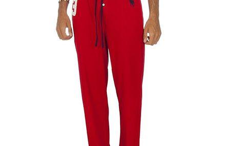 Pánské červené pyžamové kalhoty Ralph Lauren