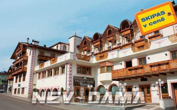 Palace Hotel Ravelli, Marilleva / Folgarida, Itálie, vlastní doprava, polopenze