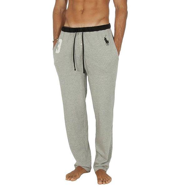 Pánské světle šedé pyžamové kalhoty Ralph Lauren