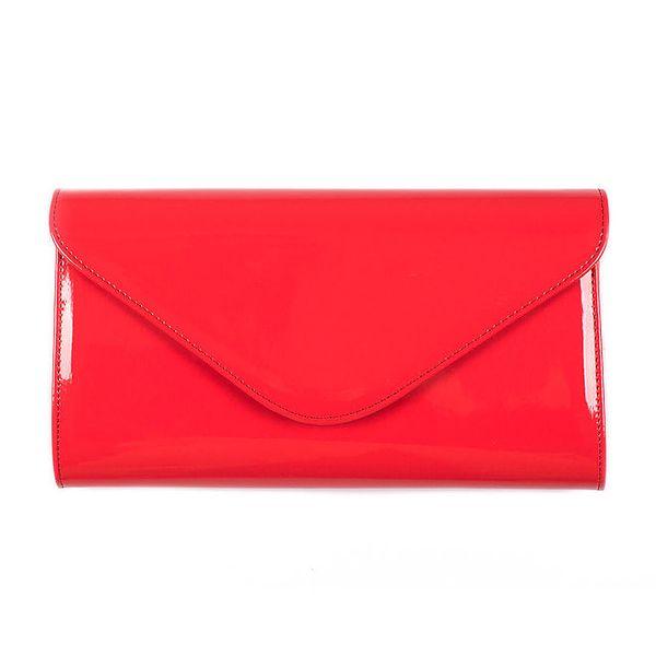 Dámské korálově červené psaníčko Felice