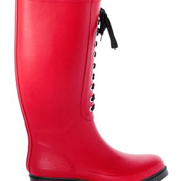 Boty, červená