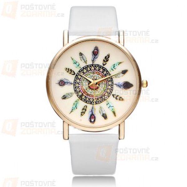 Geneva hodinky s indiánskými motivy a poštovné ZDARMA! - 29413488
