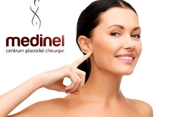 Plastika ušních boltců na klinice MEDINEL