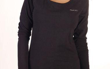 Dámské černé triko s dlouhým rukávem Reebok