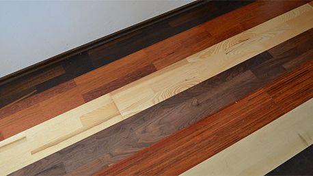 Dřevěná podlaha MIX včetně pokládky