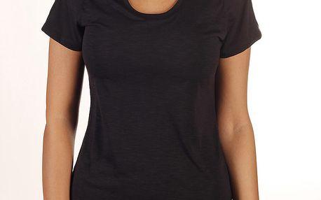 Dámské černé tričko s průstřihy Reebok