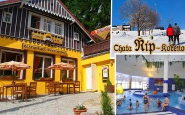 3denní ZIMNÍ DOVOLENÁ pro 2 včetně snídaně v Jizerských horách. Lyžovačka, 8 km od Harrachova.