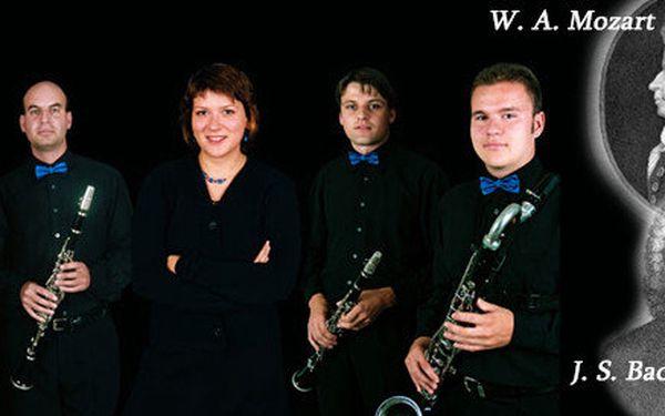 Podzimní koncert - Klatovský klarinetový kvartet - klasika i jazz