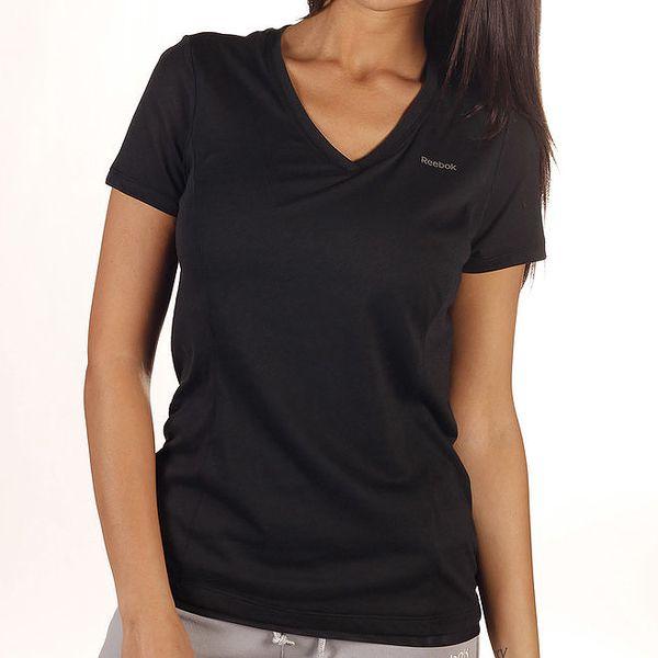Dámské kombinované černé tričko Reebok